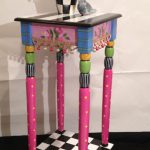 Whimsical Painted Furniture Table