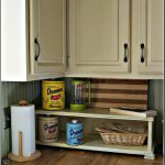 Whimsical Perspective Chalk Paint Kitchen