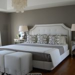 White Bedroom Walls Gray Paint Colors
