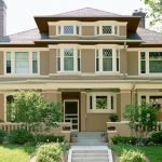 White Brick Houses Exterior Paint Color Combinations House Ideas