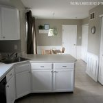 White Cabinet Reveal Kitchen East Coast Creative