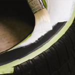 White Wall Tire Paint Caswell