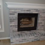 Whitewash Brick Our Fireplace Makeover Loving