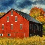 Why They Paint Barns Red Photograph Lois
