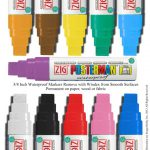Wide Chalk Paint Marker Zig Posterman Big Bold Waterproof Pma Inch