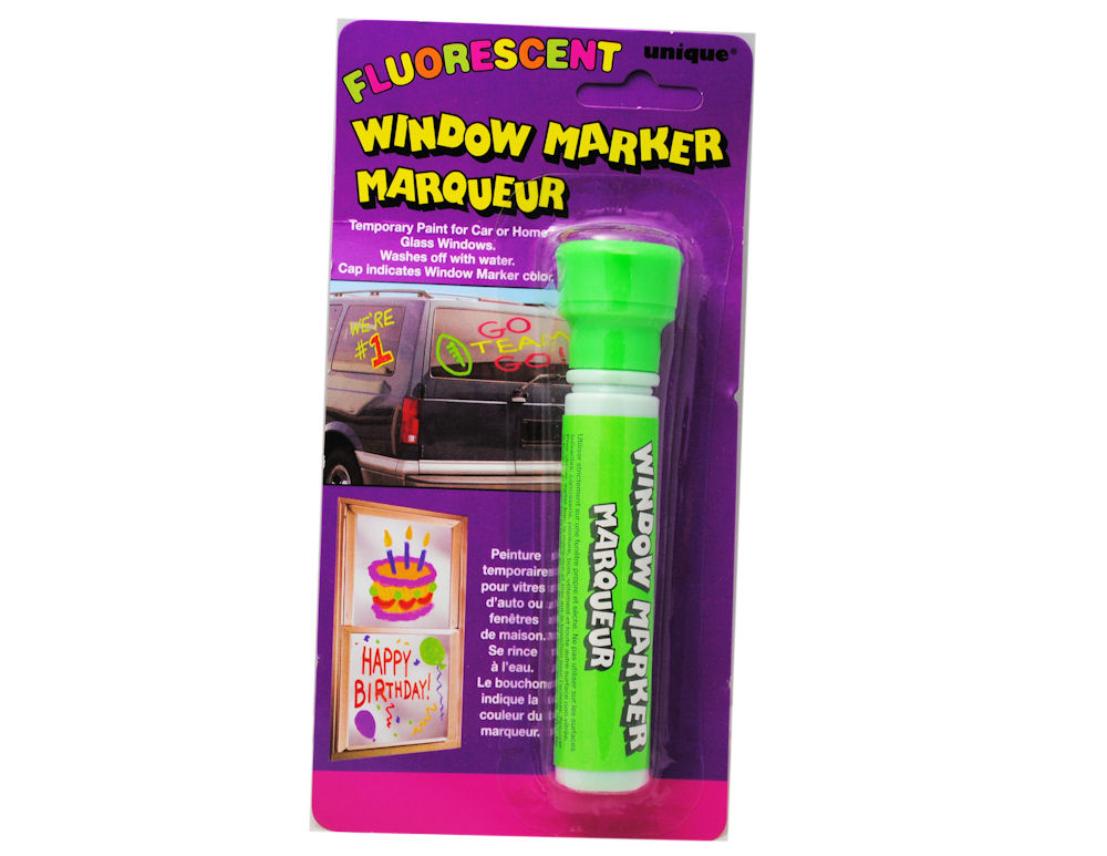 Window Marker Car Glass Temporary Paint Neon Green