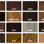 Wood Polywood Color