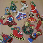 Wooden Christmas Ornaments Paint