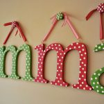 Wooden Letter Wall Letters Hand