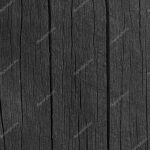 Wooden Plank Board Black Wood Tar Paint Texture Detail Large Old Aged Dark Detailed
