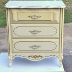 Yard Sale French Provincial Painted Chest Turned
