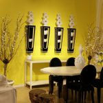 Yellow Wall Paint Dining Room Home