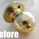 Yes Can Spray Paint Door Knobs Crafty Little
