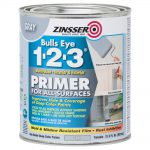 Zinsser Bulls Eye Water Based Interior Exterior Gray Primer Sealer
