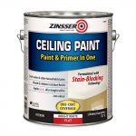 Zinsser Flat Bright White Water Based Ceiling Paint Lowe