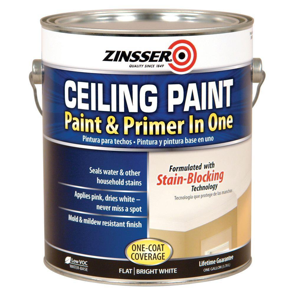 Zinsser Gal Ceiling Paint Primer One Case Home
