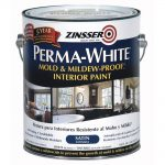 Zinsser Gal Perma White Mold Mildew Proof Satin Interior Paint